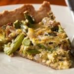 Relish: Mushroom Asparagus Quiche